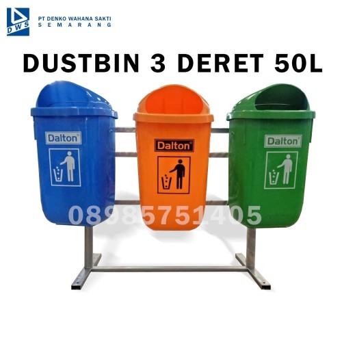 Foto Produk Tempat Sampah Dustbin 3 Deret Dinas Perkantoran dan Perumahan dari Exis Toys