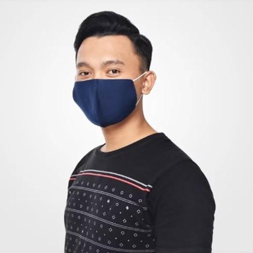 Foto Produk Masker Kain Katun 3 Ply 3 Lapis bisa di cuci kembali lembut nyaman dari kampoengutan