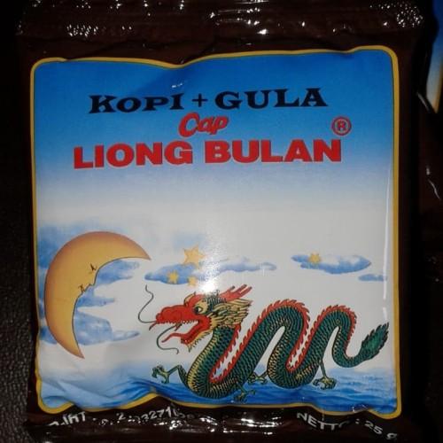 Foto Produk Kopi bubuk liong bulan plus gula (1 pack isi 20 sachet @25 gr) dari warung165