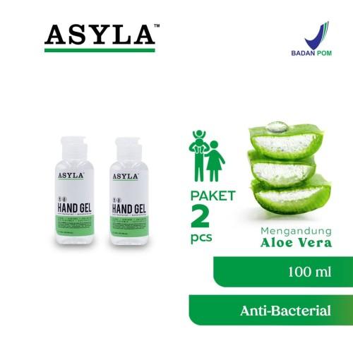 Foto Produk ASYLA Hand Gel 100ml (2pcs) - Hand Sanitizer dari ASYLA OFFICIAL STORE