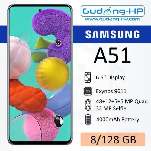 Foto Produk Samsung Galaxy A51 8/128 GB Garansi Resmi SEIN - Biru dari Gudang-HP
