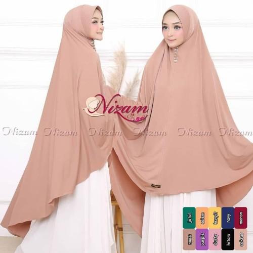 Foto Produk Jilbab Syari Jumbo / Nizam Bergo Jumbo / Hijab Jersy Jumbo Terbaru dari Glory Hijab