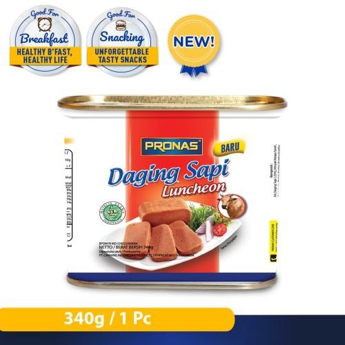 Foto Produk Pronas Luncheon Sapi (Daging Blok Serbaguna) 340 g dari Pronas Official Store