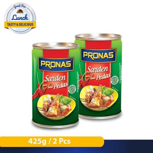 Foto Produk Pronas Sarden dalam Saus Pedas 425 g bundling 2 pcs dari Pronas Official Store