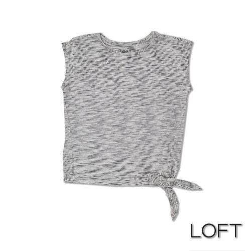 Foto Produk LOFT sleeveless striped pita samping dari toko super murah