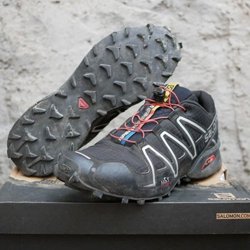 Foto Produk Salomon Speedcross3 Original | Sepatu Hiking Gunung | Running Shoes dari Travelonest