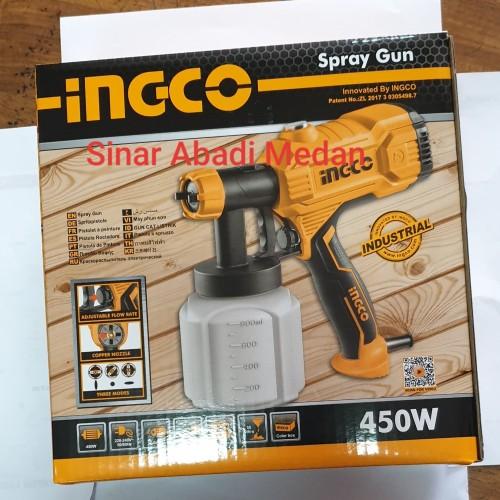 Foto Produk SPG3508 SPRAY GUN LISTRIK HD SEMPROTTAN ANGIN CAT TABUNG BAWAH INGCO dari Sinar Abadi Medan