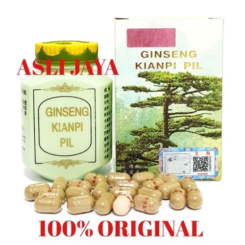 Foto Produk Ginseng Kianpi Pil WISDOM - Obat Gemuk / Penambah Nafsu Makan dari Asli jaya