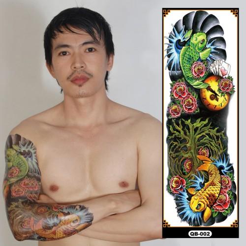 Foto Produk Tattoo/Tattoo temporary/Tattoo Temporer/Tattoo 17x48 cm Qb002 dari Abadi Foto