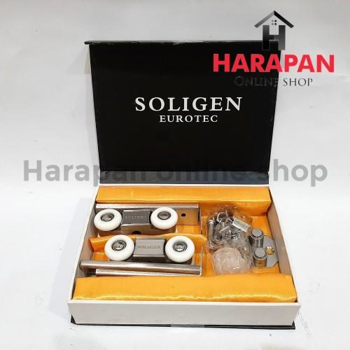 Foto Produk RODA REL PINTU GESER / DORONG SOLIGEN dari Harapan online shop