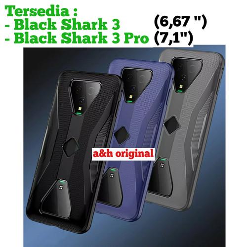 Foto Produk Black Shark 3   3 Pro - Soft Case TPU ShockProof Protective Case - Hitam, BLACK SHARK 3 dari a&h original