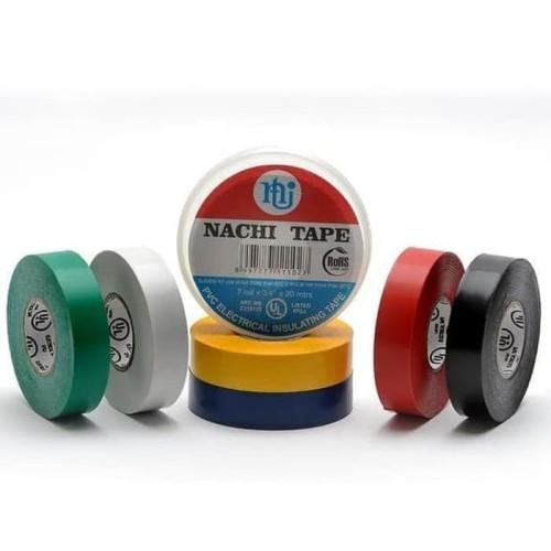 Foto Produk Isolasi Listrik Merek Nachi Electrical Insulating Tape - Hitam dari MitraPersada