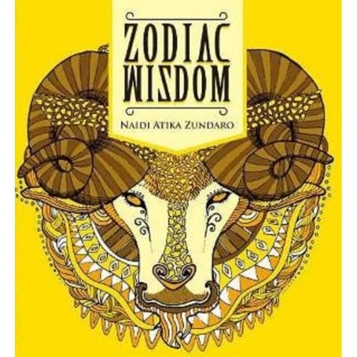 Foto Produk BUKU ZODIAC WIZDOM: ADULT COLORING BOOK dari Millennia Bookstore