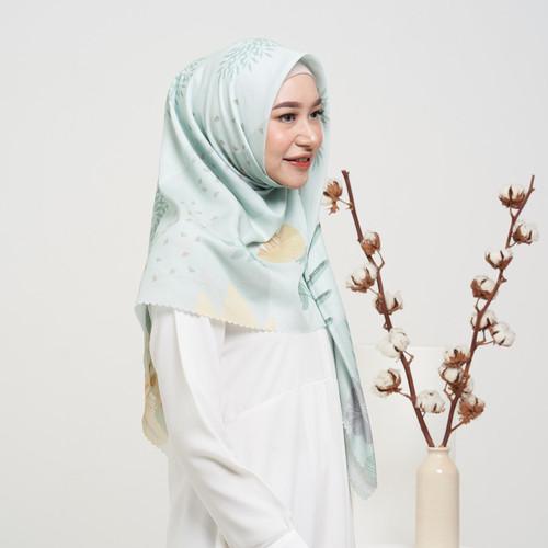 Foto Produk BLOSSOM Novella Scarf | Hijab Segi Empat Superfine Voal - MINT, ORI 120 X 120 dari THE NOVELLA SCARF