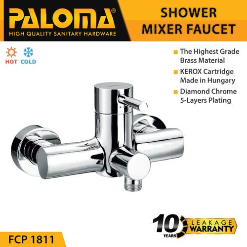 Foto Produk PALOMA FCP 1811 Keran Mixer Shower Mandi Panas Dingin Kran Air dari PALOMA HARDWARE