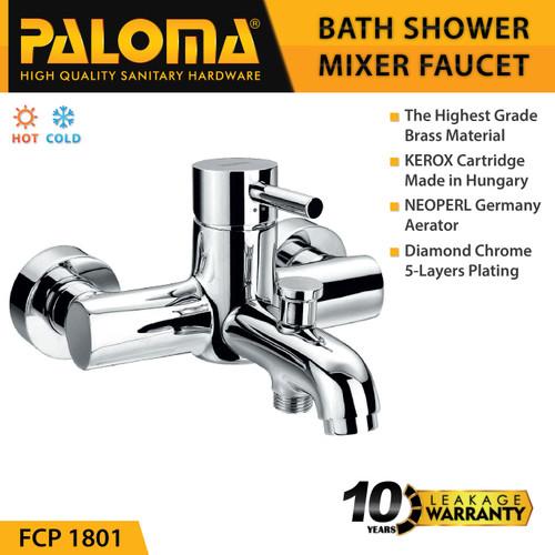 Foto Produk PALOMA FCP 1801 Keran Mixer Bathtub Shower Mandi Panas Dingin Kran Air dari PALOMA HARDWARE