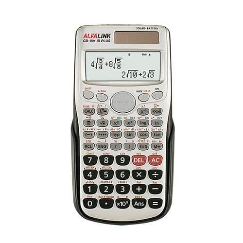 Foto Produk Alfalink Calculator CD 991 id Plus - Abu-abu dari Alfalink
