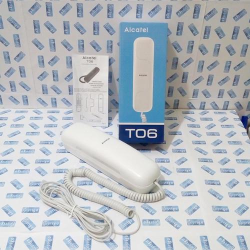 Foto Produk Alcatel T06 Telepon Rumah / Dinding Tipe Analog - Putih dari BESTIGO PABX TELEPON