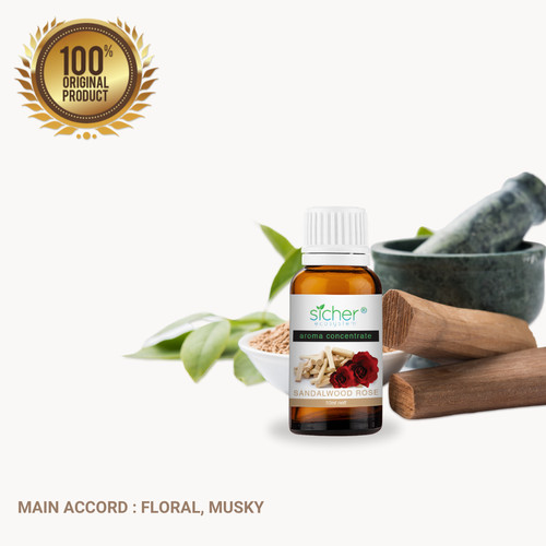Foto Produk Sicher SA-101 Fragrance Oil Sandalwood Rose 10ml dari Sicher Ecosystem