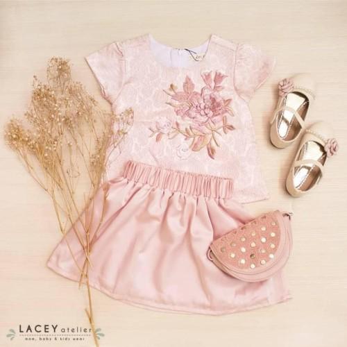 Foto Produk Setelan Anak Perempuan Alice Set Lacey Atelier - L dari LACEY atelier