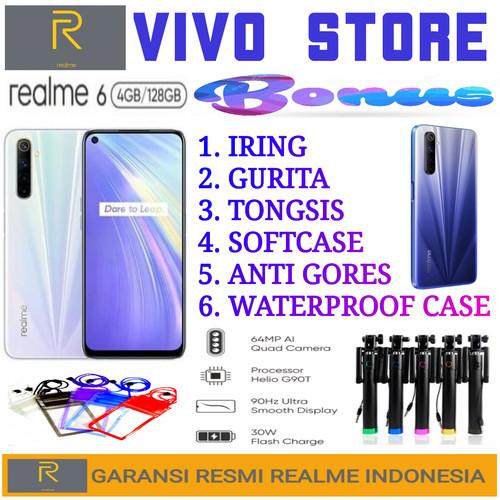 Foto Produk REALME 6 RAM 4/128 GB GARANSI RESMI REALME INDONESIA - demo tanpa dus dari VIVO ST0RE