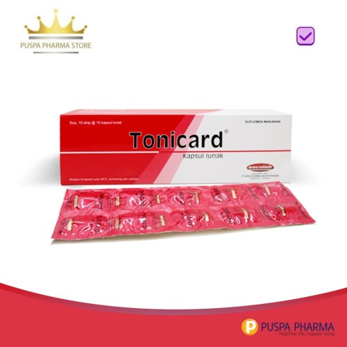 Foto Produk Tonicard - Membantu memelihara kesehatan tubuh dari Puspa Pharma Store