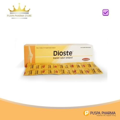 Foto Produk Dioste - Membantu memelihara fungsi sendi dari Puspa Pharma Store