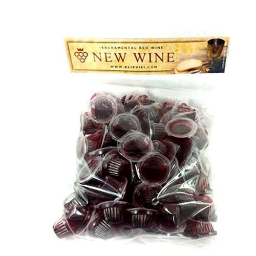 Foto Produk Anggur New Wine isi 50 cup dari Visi Christian Store