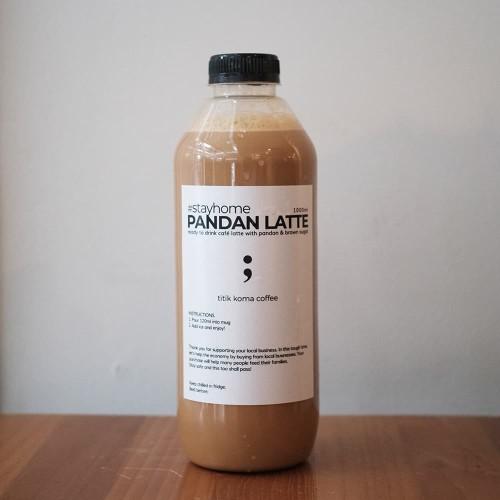 Foto Produk Pandan Latte 1 Liter - 1000ml dari titikkomacoffee