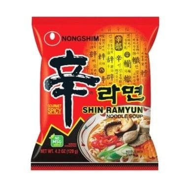 Foto Produk NONGSHIM Shin Ramyun Noodle Mushroom Mie Instan [120 g] dari Bilka Supermarket