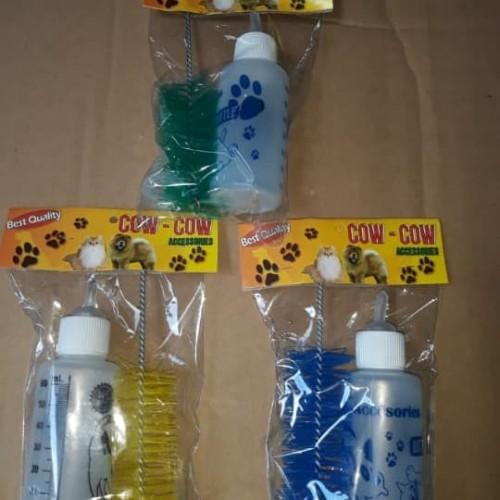 Foto Produk Botol Dot Susu + Sikat + Dot ekstra untuk kucing anjing musang dari elok petshop