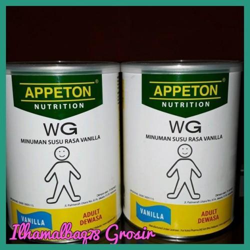 Foto Produk Sale Appeton Weigth Gain Apeton Susu Penambah Berat Badan Dewasa 450 dari Ilhamalbaq78 Grosir
