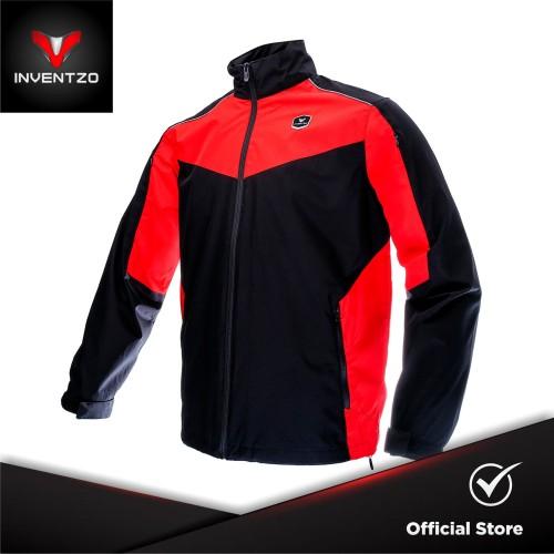 Foto Produk INVENTZO N-Lite Alpha - Jaket Motor Tahan Angin Pria - Black Red - Small dari INVENTZO