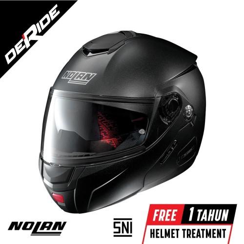Foto Produk Helm Nolan N90-2 SPECIAL N-COM Col. 009 (BLACK GRAPHITE) SNI dari DeRide Official Store