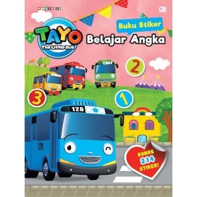 Foto Produk Tayo the Little Bus: Buku Stiker: Belajar Angka - Iconix / Jang Yeseo dari Toko Kutu Buku
