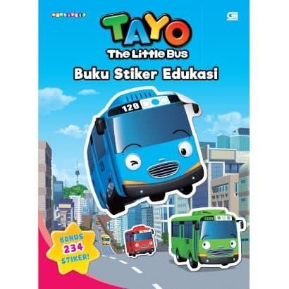Foto Produk Tayo the Little Bus Buku Stiker Edukasi - Iconix - Gramedia - Original dari Toko Kutu Buku