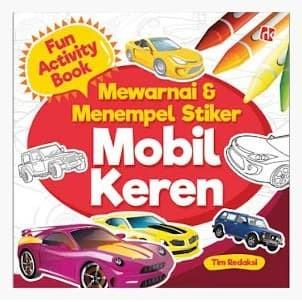 Foto Produk Mewarnai Dan Menempel Stiker Mobil Keren dari Toko Kutu Buku