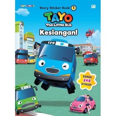 Foto Produk Tayo Story Sticker Book: Kesiangan - Iconix - Gramedia Pustaka Utama - dari Toko Kutu Buku