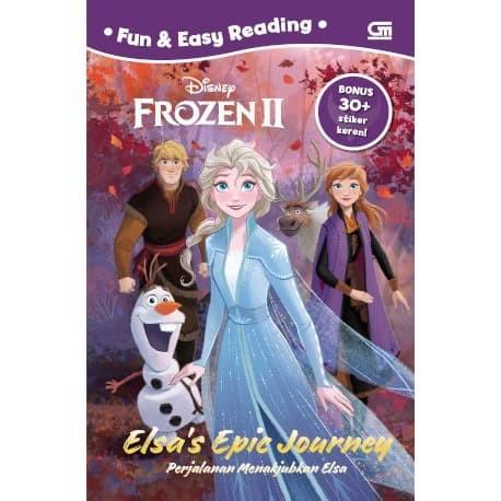 Foto Produk Frozen II: Perjalanan Menakjubkan Elsa - Disney - Gramedia Pustaka Uta dari Toko Kutu Buku