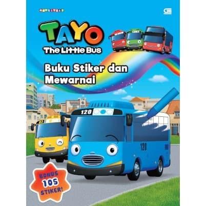 Foto Produk Tayo the Little Bus: Buku Stiker dan Mewarnai - Iconix - Gramedia dari Toko Kutu Buku
