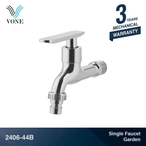 Foto Produk VONE 2406-44B Keran Kran Air Single Wall Tembok Taman Chrome Krom dari Vone Sanitary Indonesia