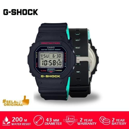 Foto Produk Jam Tangan Casio G-Shock DW-5600CMB-1DR Original Murah dari GrosirGshock