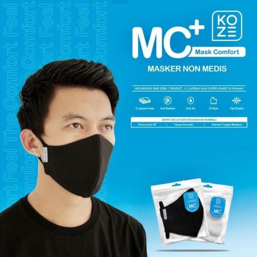 Foto Produk Masker KOZE Masker Non Medis 2 Lapis PREMIUM Masker Kain Masker Scuba - Putih dari KOZE JAKARTA OFFICIAL