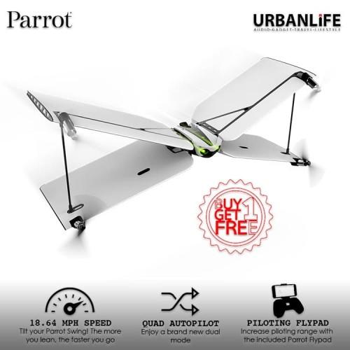 Foto Produk BUY 1 GET 1 Parrot Swing Drone - White dari URBANLIFE