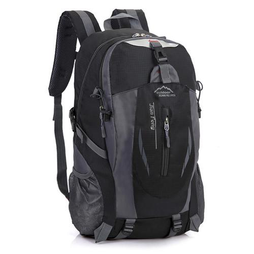 Foto Produk Techdoo Tas Ransel Pria Backpack Tas Sekolah Tas Punggung IMPORT TR106 - Hitam dari Techdoo