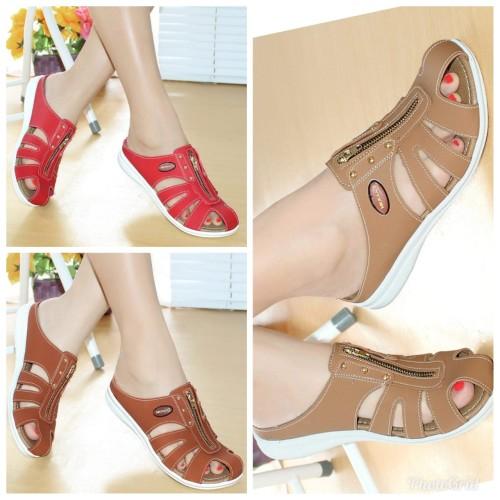 Foto Produk Sepatu Wanita Casual Bakpau Mulan 1690 Tan dari DETECTOR