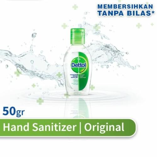 Foto Produk Dettol Instant Hand Sanitizer 50ml dari see_mart