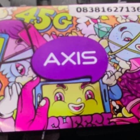 Foto Produk Kartu Perdana Axis Reguler Baru 0K dari Delofa Cell Yogyakarta