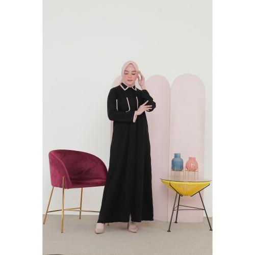 Foto Produk Nafashakila Nissa Gamis, Abaya Kuning dan Pink - Merah Muda dari nafashakila