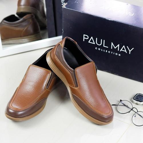 Foto Produk PAULMAY Sepatu Formal Pria Roma 03 E - Hitam, 42 dari Paulmay